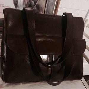 Handbags - ❤SALE!️  Classic Italian Leather Purse Espresso